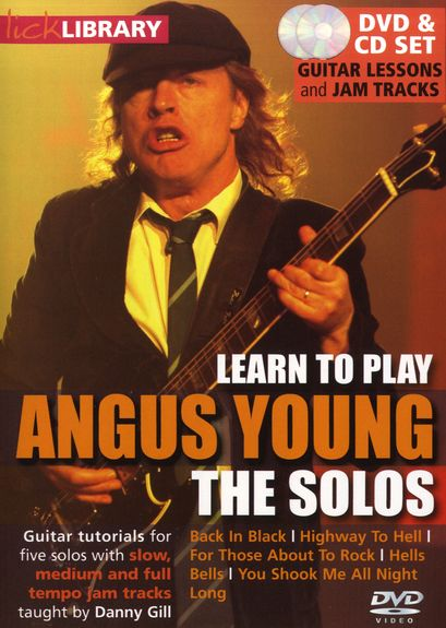 скачать видеошколу Lick Library - Learn To Play Angus Young - The Solos