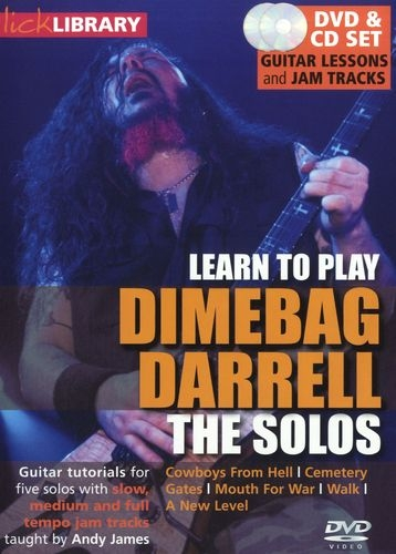 Lick Library - Dimebag Darrell: The Solos