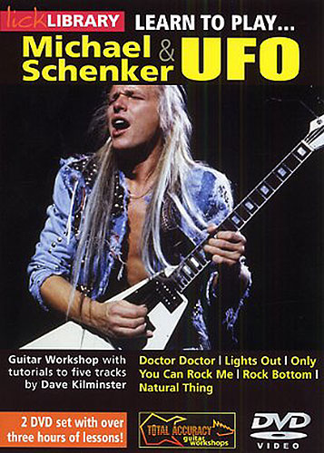 Скачать Lick Library - Learn To Play Michael Schenker and UFO