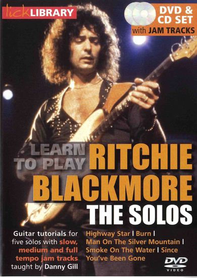 Видеошкола Lick Library - Learn To Play Ritchie Blackmore - The Solos