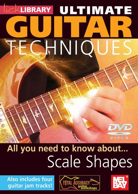 Видеошкола Lick Library - Ultimate Guitar Techniques - Scale Shapes