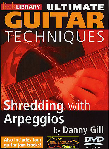 Видеошкола Lick Library - Ultimate Guitar - Shredding With Arpeggios