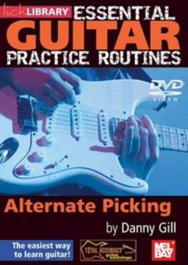 скачать видеошколу Lick Library Essential Guitar Practice Routines - Alternate Picking