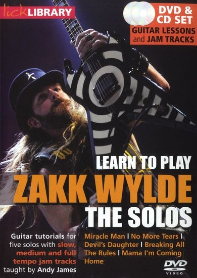 Скачать Lick Library - Learn To Play Zakk Wylde The Solos