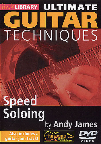 Видеошкола Lick Library - Ultimate Guitar Techniques - Speed Soloing