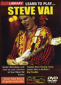 скачать аидеошколу Lick Library - Learn To Play Steve Vai vol 2
