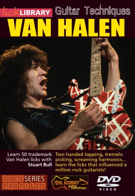 скачать видеошколу Lick Library - Learn To Play Van Halen